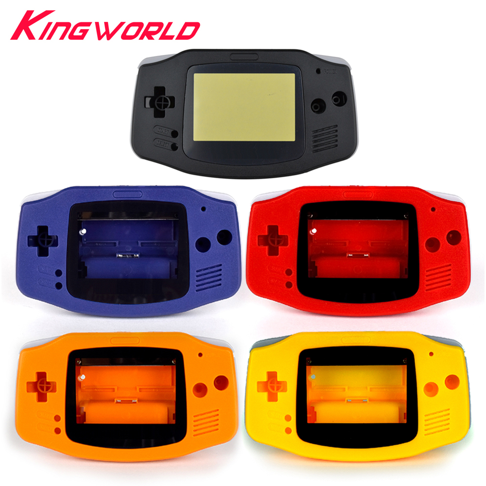1set High quality replacement housing case Plastic Shell Cover for Nintendo for Gameboy Advance for GBA Console