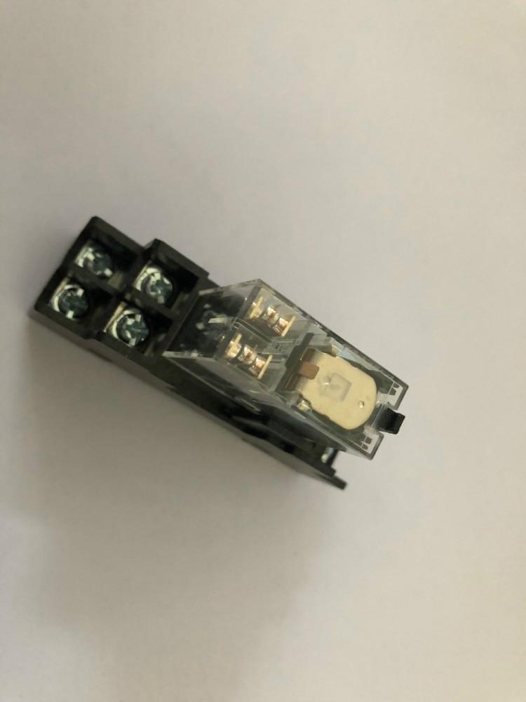 1 комплект G2R-2-S G2R-2-SN 12VDC 24VDC 110VAC 220VAC двухпозиционное реле с гнездом