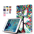 2016 новый Приходить для Apple iPad mini 4 PU Кожаный Чехол крышка Подставка Противоударный Защитник iPad mini Случае 7.9 дюймов Happy tree