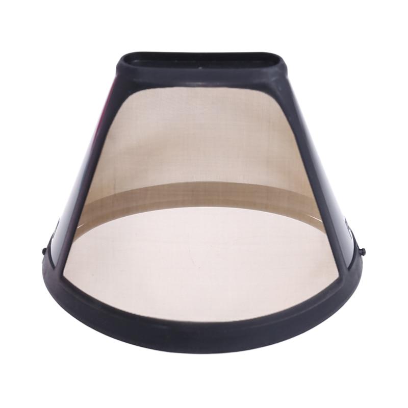 все цены на Reusable Coffee Filter 10-12 Cup Cone-Style Maker Machine Gold Mesh Handle Tool онлайн