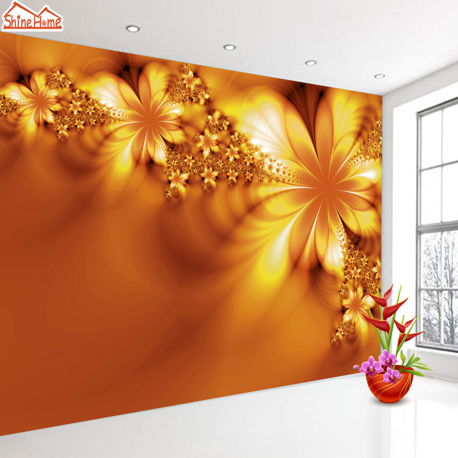 ShineHome-Classical Flower Wallpaper for Rooms 3d Photo Wallpaper for Walls 3 d  Living Room Wallpapers Wall Mural Rolls shinehome nature banana leaf wallpaper 3d photo wallpaper rolls for walls 3 d livingroom wallpapers mural roll paper background