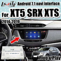 Android 7.1 GPS Navigation Box for Cadillac XTS SRX ATS.. 2014 18 multimedia video interface support wireless carplay by Lsailt