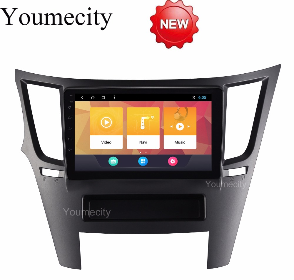 Android 8.1 Car DVD for Subaru Legacy Outback 2009-2014 2015 GPS radio video Multimedia player Capacitive IPS Screen RDS wifi 7 android 4 2 capacitive screen car dvd player w ips gps rds wifi radio aux bt for audi a3