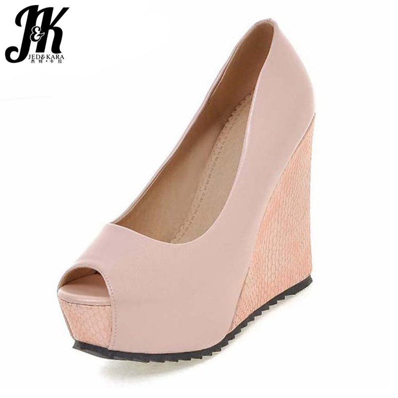 eef170401de Detail Feedback Questions about New Arrival Women s Pumps Sexy Peep Toe  Woman s Shoes Shallow Wedges High Heels Shoes Popular Thick Platform Shoes  Woman on ...