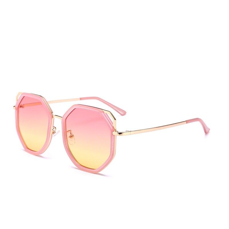 square oversized sunglasses women 2018 luxury brand ladies fashion shades retro pink black girls photochromic sunglassse womens