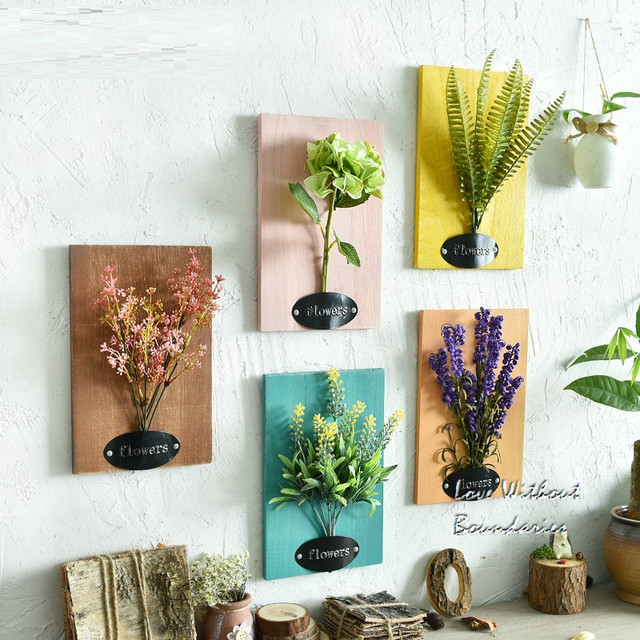 kreatives büro dekor hängeplatten mit simulation künstliche kreative wanddekor für büro handcrafted wandplatten wand pflanzer wand dekor