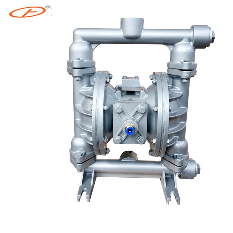 QBY-40 Chemical dedicated infusion aluminum pneumatic diaphragm pump with F46 diaphragm andré rieu maastricht