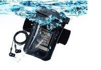 Pcv wodoodporna torba podwodne telefonu case dla iphone 6/6s/5/5S wodoodporna torba etui z wodoodporna wodoodporne słuchawki zestaw słuchawkowy