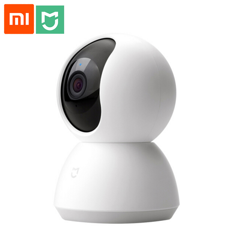 Xiao mi Smart Webcam Version populaire 360 Angle 1080P HD Vision nocturne sans fil Wifi IP Webcam Smart Home Cam application pour maison intelligente