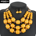 multilayer necklace jewelry new fashion classic statement necklace african beads necklace women colares femininos1250