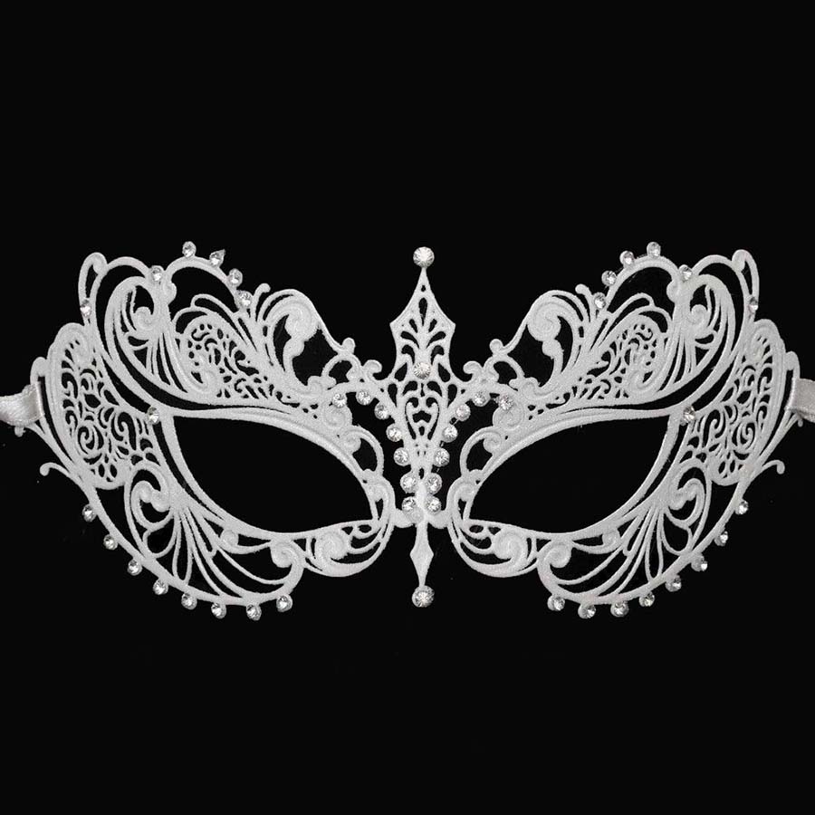 Masquerade mask masquerade mask vine mask metal lace masquerade - Luxury Fashion Venetian Metal Laser Cut Ball Masquerade Mask Party Wedding Mask Gold Black White Silver