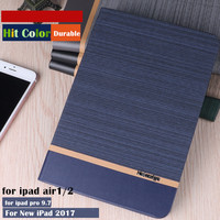 Hit Color Magnet Smart Cover Case For Apple IPad Air1 2 9 7 Tablet Case Flip