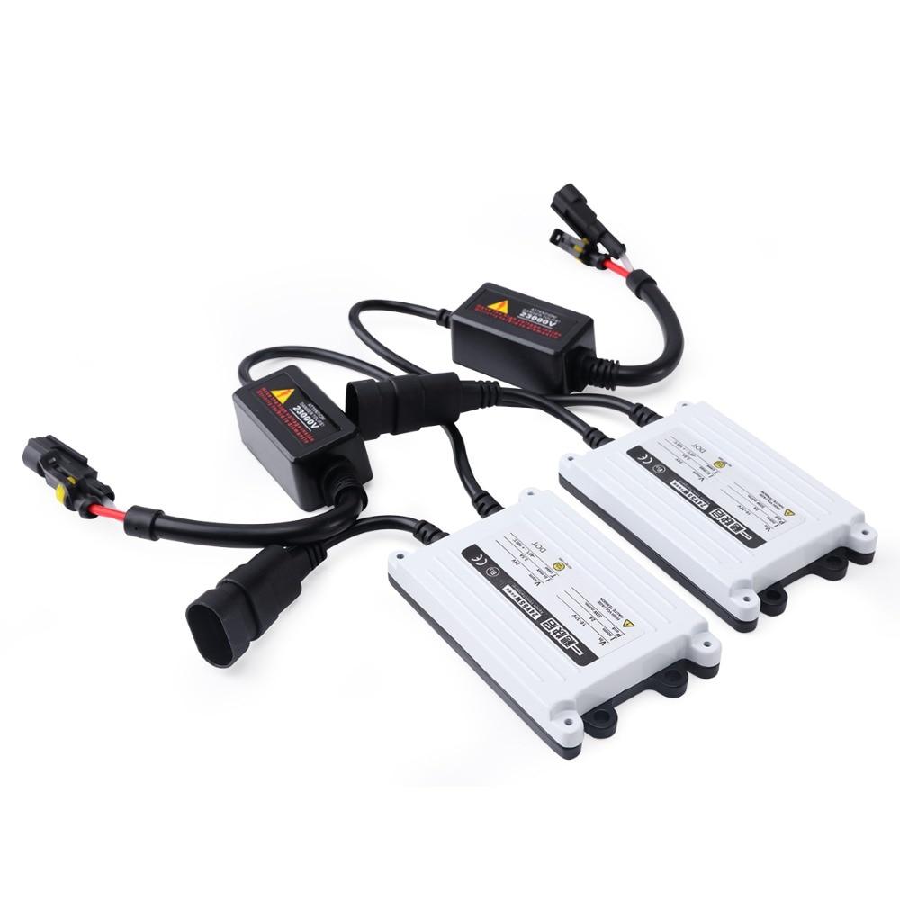2 ədəd AC xenon 55w lampa H7 55w ballast H4 H3 H1 H11 H13 9004 9005 - Avtomobil işıqları - Fotoqrafiya 1