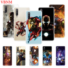 Patterned Soft Phone Case For Xiaomi Mi 5S Plus 5X 6X 8 9 SE Lite F1 Play Mix 3 Art Customized Cases Iron Man Marvel Hero
