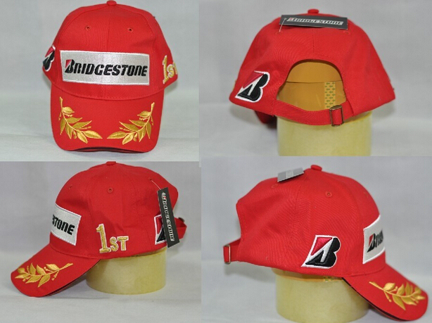 Red Bridgestone Racing Cap Men F1 Car Moto Gp Motorcycle Race Caps Male  Cotton Sports Baseball Sun VR46 baseball Caps Visors b92b3f226a2
