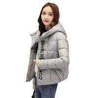 2018 New Hot Fashion Women Parkas Winter Women Coats Short Long Sleeve Thick Outwear Winter Women Coat CC412