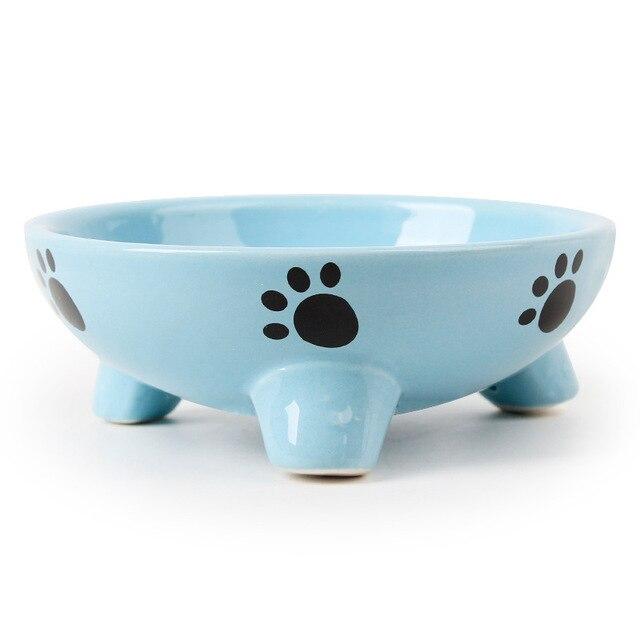 Dog and Cat Ceramic Fashion Design Bowl