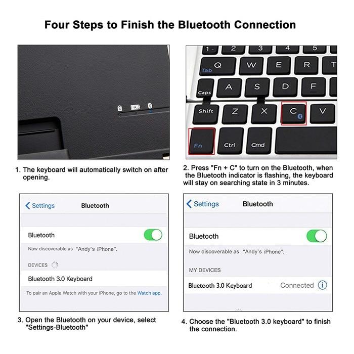 Animuss Bluetooth wireless keyboard (5)