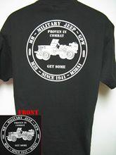 2019 Fashion Double Side Military Jeep T-Shirt/ Mb/ Gpw/ M38/ M38A1/ Cj2A/ Cj3A/ Cj5/ Willys Unisex Tee