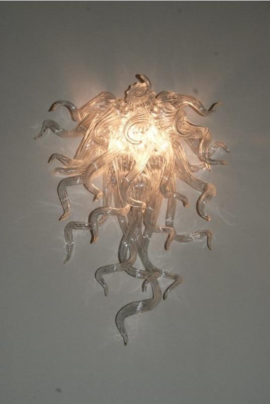 Livraison gratuite décorations de mariage lampes murales en verre soufflé à la main
