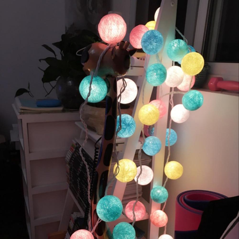 ₪Nouvelle Arrivée 20 Doux Pastel Lumi¨re Multicolore Style Coton