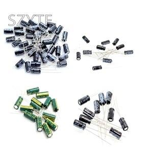 5/10/20 шт алюминиевый электролитический конденсатор с алюминиевой крышкой, 6,3/10/16/2/35/63 V/400 V 10 мкФ 100 мкФ 1000 мкФ 22 мкФ 220 мкФ 2200 мкФ 33 мкФ 330 мкФ 47 мк...