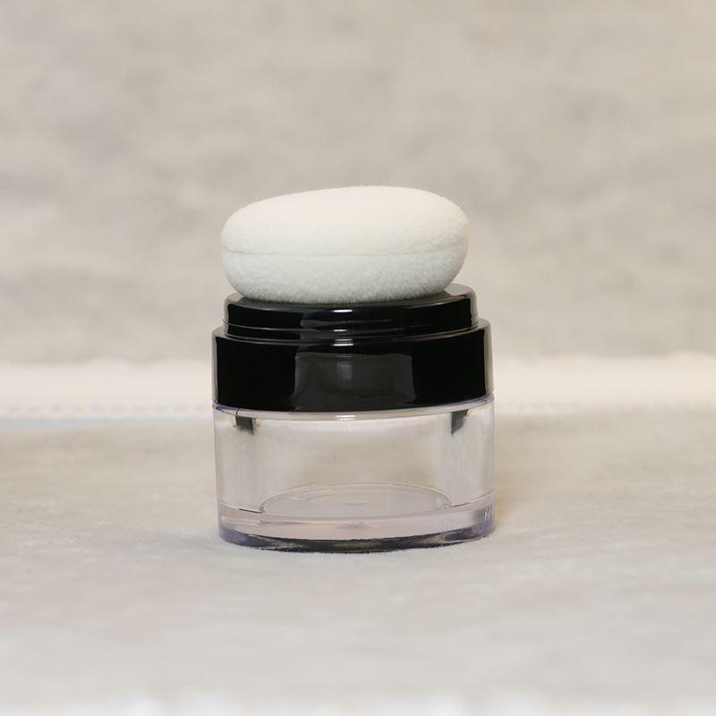 new 60pcs/lot  empty plastic loose powder jar 10g, 10ml empty loose powder jar with sifter