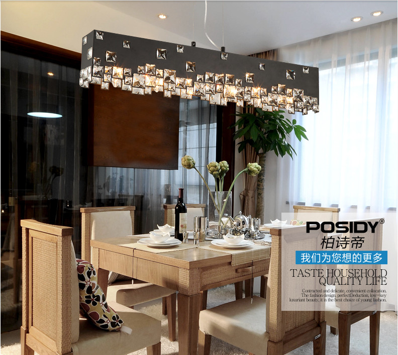 2015 New black white lampshade fashion hanging kitchen ...
