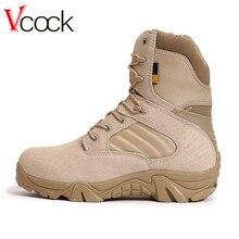 Vcock Открытый Спортивные Тактический Кемпинг Обувь Мужские сапоги для Восхождение дышащий легкий горный Сапоги и ботинки для девочек Треккинговые ботинки