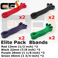[sell in Pack] Latex Pull up band / Resistance band / Strength Band / Crossfit loop band