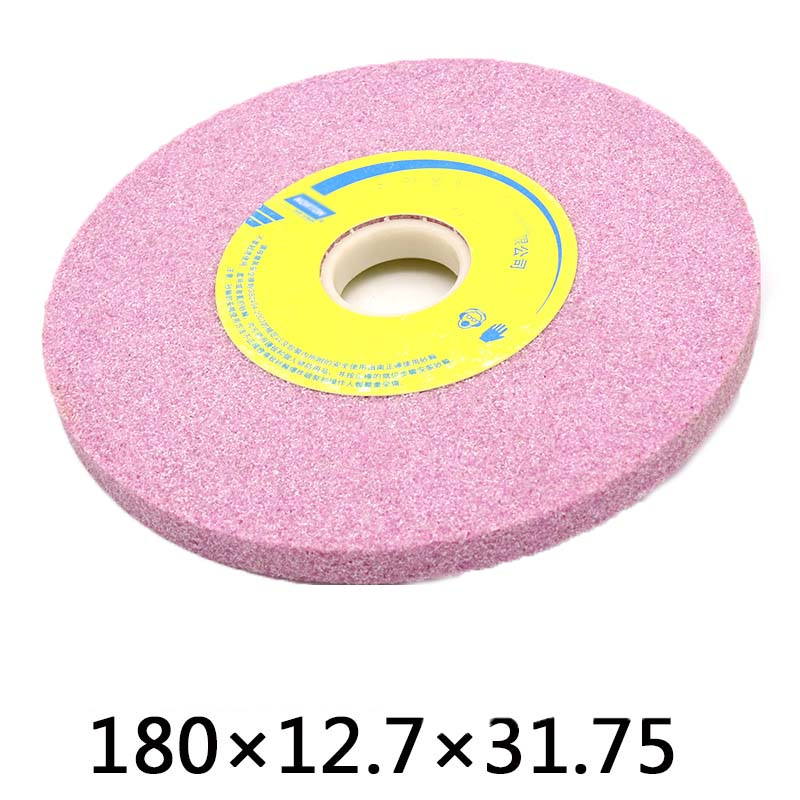 180x12.7x31.75mm Chrome corundum Grinding Wheel Abrasive Disc Polishing Metal Stone Wheel Heat Treatment Grinding Wheel le blog обувь на танкетке