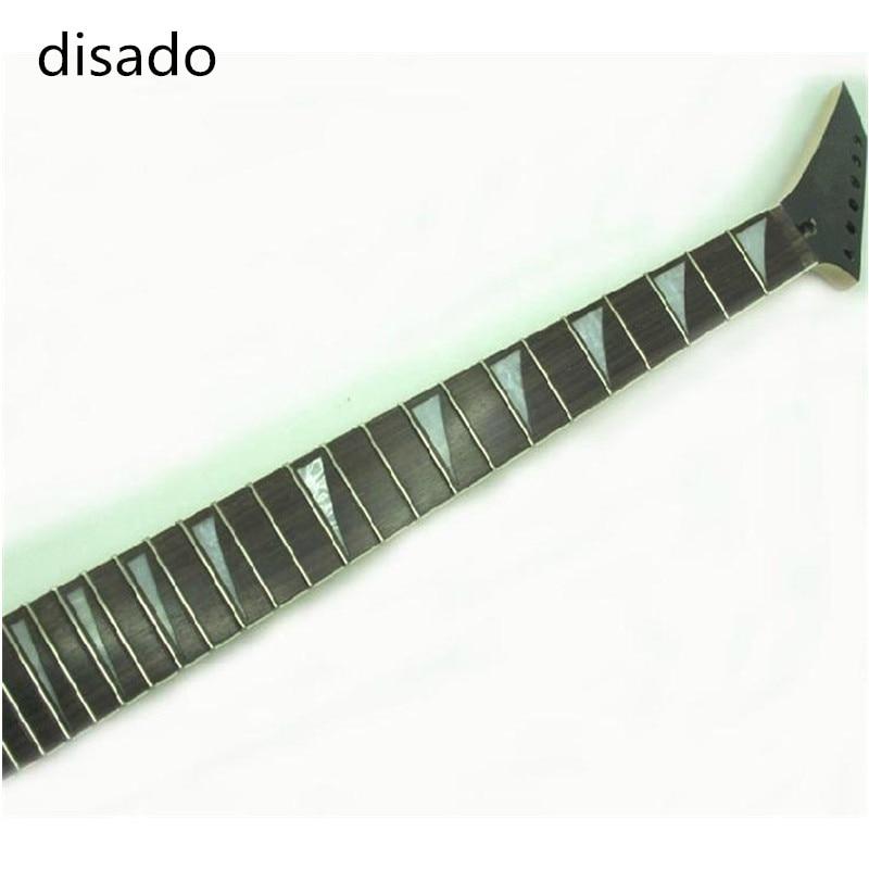 Disado instruments de musique 24 frettes guitare électrique cou palissandre touche en gros accessoires de guitare pièces