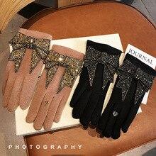 Luxury Brand Gloves Winter Women Gloves