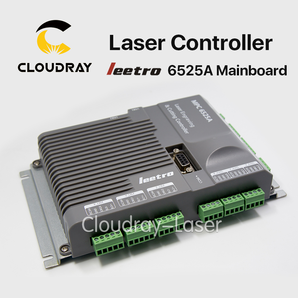 Cloudray Leetro MPC 6525A Co2 Laser Control Board Mainboard Laser Engraving and Cutting Controller leetro mpc6515 laser controller board for sale mpc6515c controller system