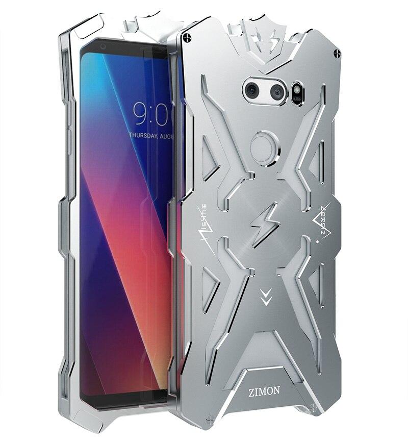V30 Original Design Armor Heavy Dust Metal Aluminum THOR IRONMAN protect phone shell case cover for LG V30 case