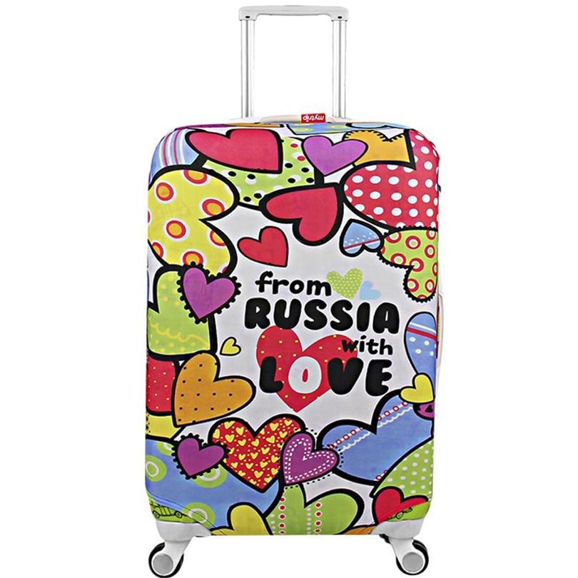 """Kelionės bagažo dangtelis Elastinis lagaminų apsauginis dangtelis Aukštos kokybės mados lagaminų viršelis apsaugo nuo 18 """"iki 32"""""""
