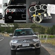 HochiTech Excellent CCFL Angel Eyes Kit Ultra bright headlight illumination for Mitsubishi Challenger Montero Sport 2008-2016