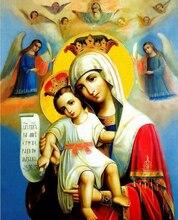 Вышивка крестом католического креста