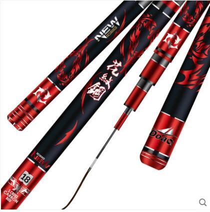 Fishing-Rod 19-Tonal-Carp-Rod Carbon-5.4m Ultra-Light Doao-Pattern Hard Imported Super