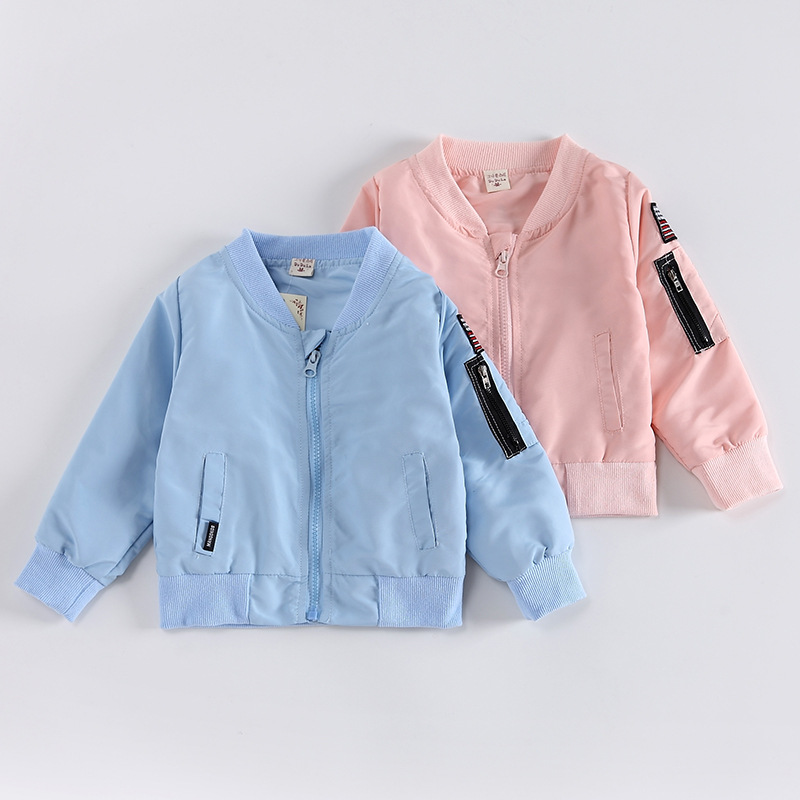 6b72a5989 Spring Mickey Jacket for Baby Boys Girls Coat Kids Cartoon Cotton ...