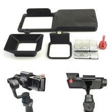 Адаптер переключатель крепление пластины + Защита от солнца Тенты для GoPro 5 Джи Осмо мобильный Gimbal Новые