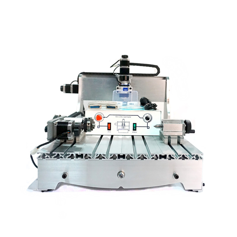 4 Axes USB CNC engraving machine 6040Z Wood Carving Cutter with 300W spindle motor