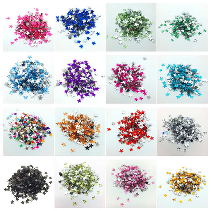 6mm 10mm 15mm Flat Back STAR Beads Resin Rhinestone Scrapbook For Jewelry Making