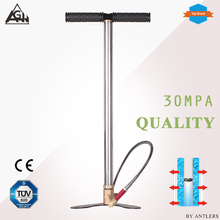 AGH 30Mpa 4500psi 3 Stage High pressure Air PCP Pump Air Rifle Paintball hand pump with filter Mini Compressor free shipping цены