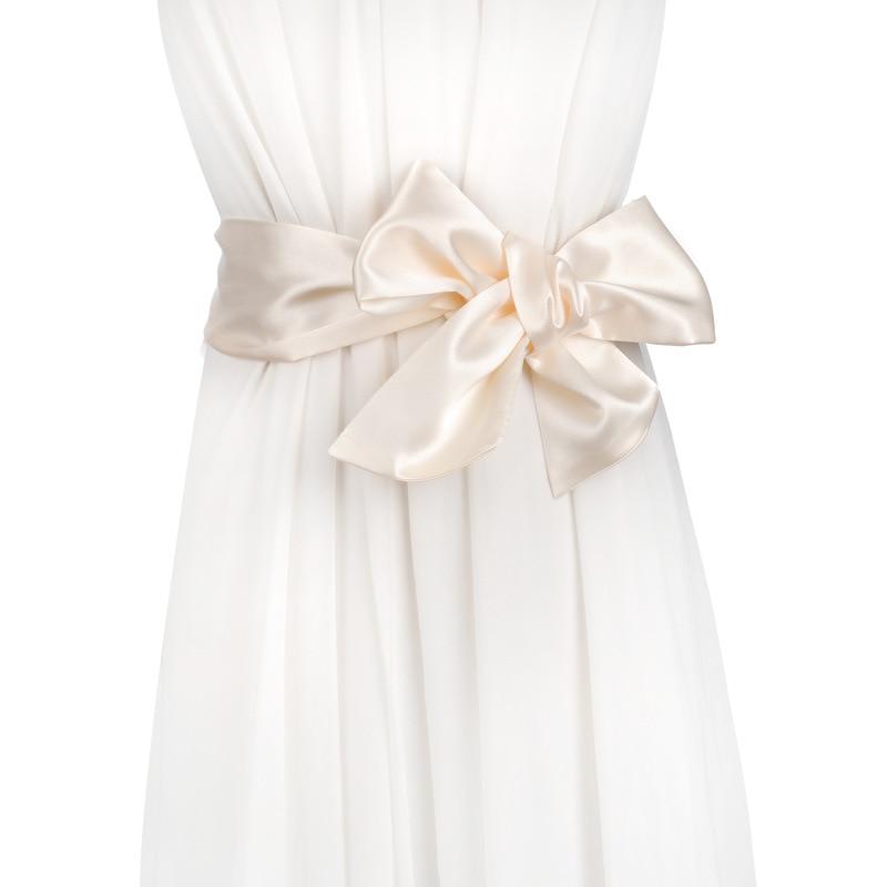 Apparel Accessories Humorous 195cm New Arrival Soft Silk Wide Belt For Women Cloth-wraped Buckle Woman Waistbands Female Satin Corset Belts Cummerbund A019