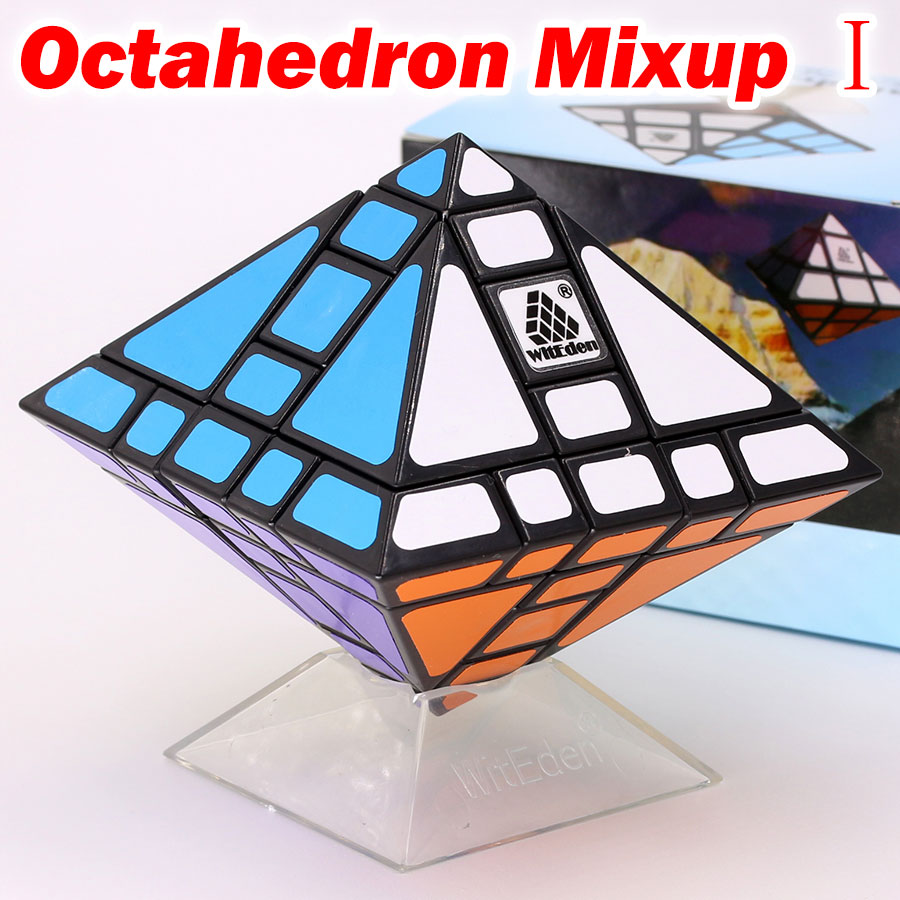 Puzzle Magic Cube WitEden Octahedron Mixup I  II  III Strange Shape Special Professional Educational Twist Logic Game Toys Gift