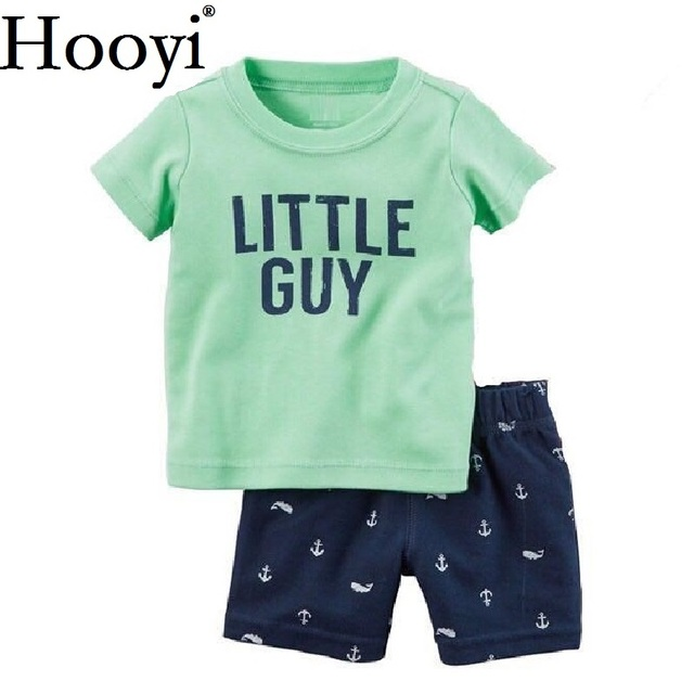 9a8355041 Anchor Baby Boy Clothes Suit Children Clothing Sets 0 2Year Little ...