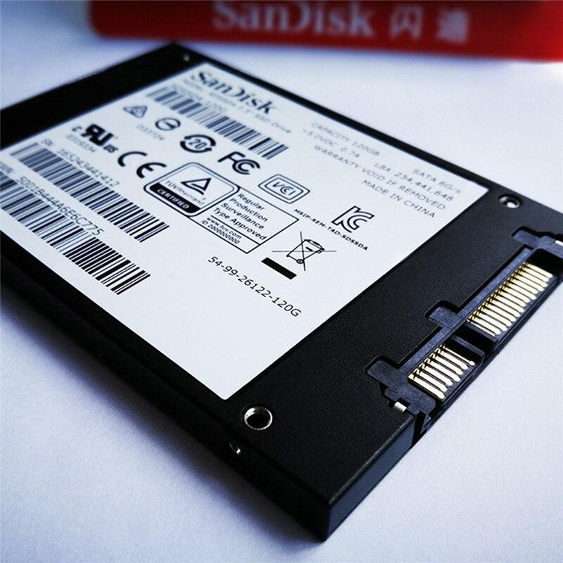 Sandisk SSD 240 GB 480GB HD ssd 120gb disk sata ssd hard drive hdd 2.5 Internal Solid State Disk Hard Drive SATA 3 for Laptop 5