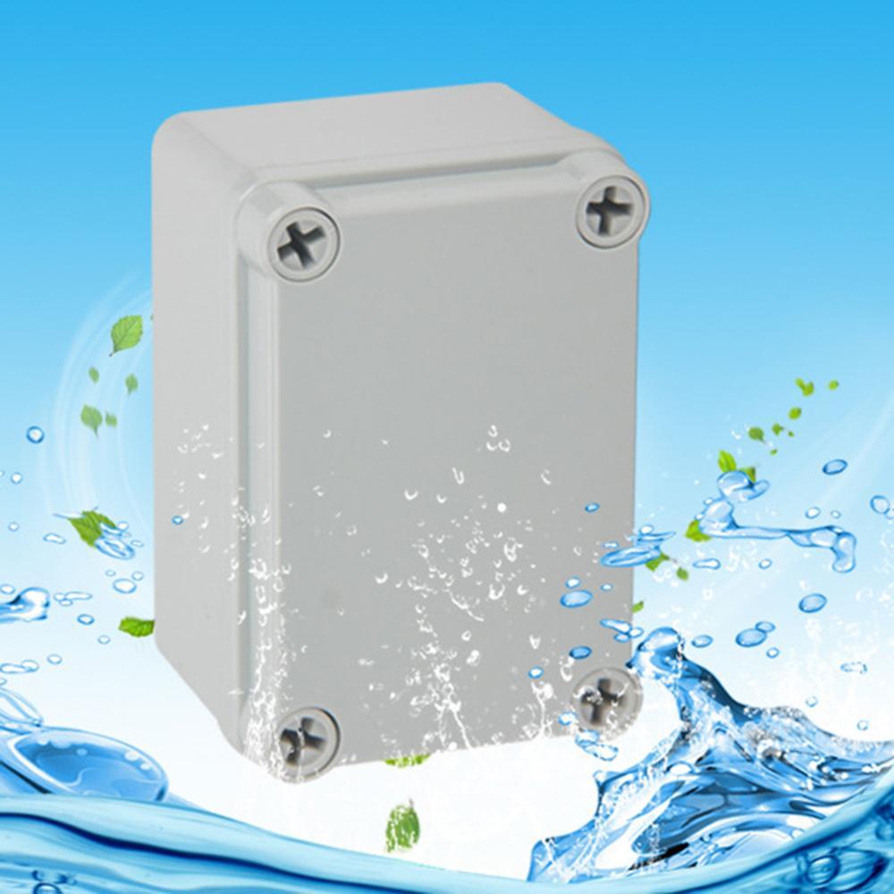 Waterproof Plastic Electrical Enclosure Junction Box Holder DIY Case 95x65x55mm