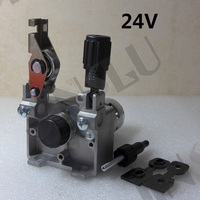 24V 0.8 1.0mm ZY775 Wire Feed Assembly Wire Feeder Motor MIG MAG Welding Machine Welder without Connector MIG 160 JINSLU